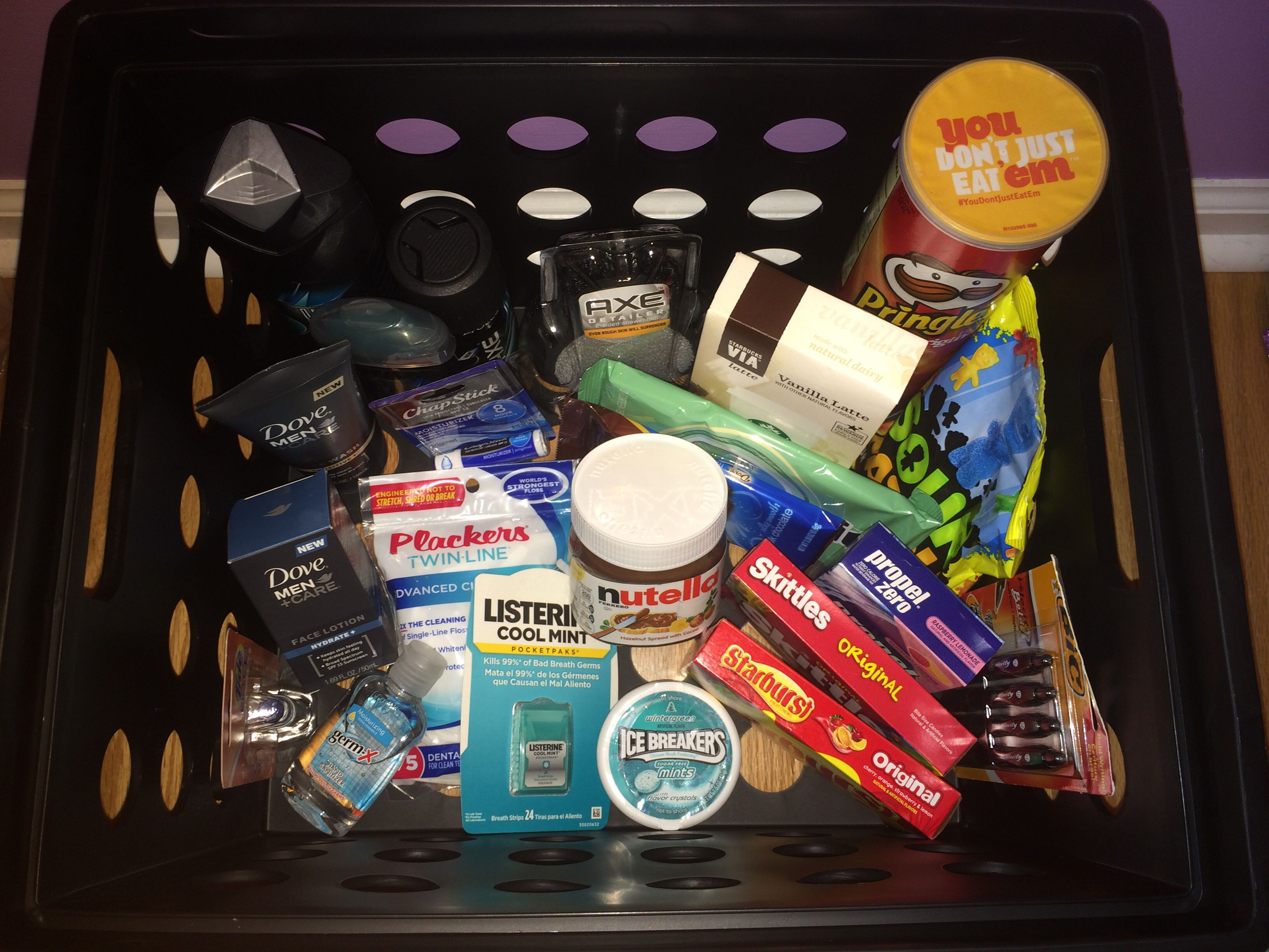 College survival kit ideas for boyfriend i made this