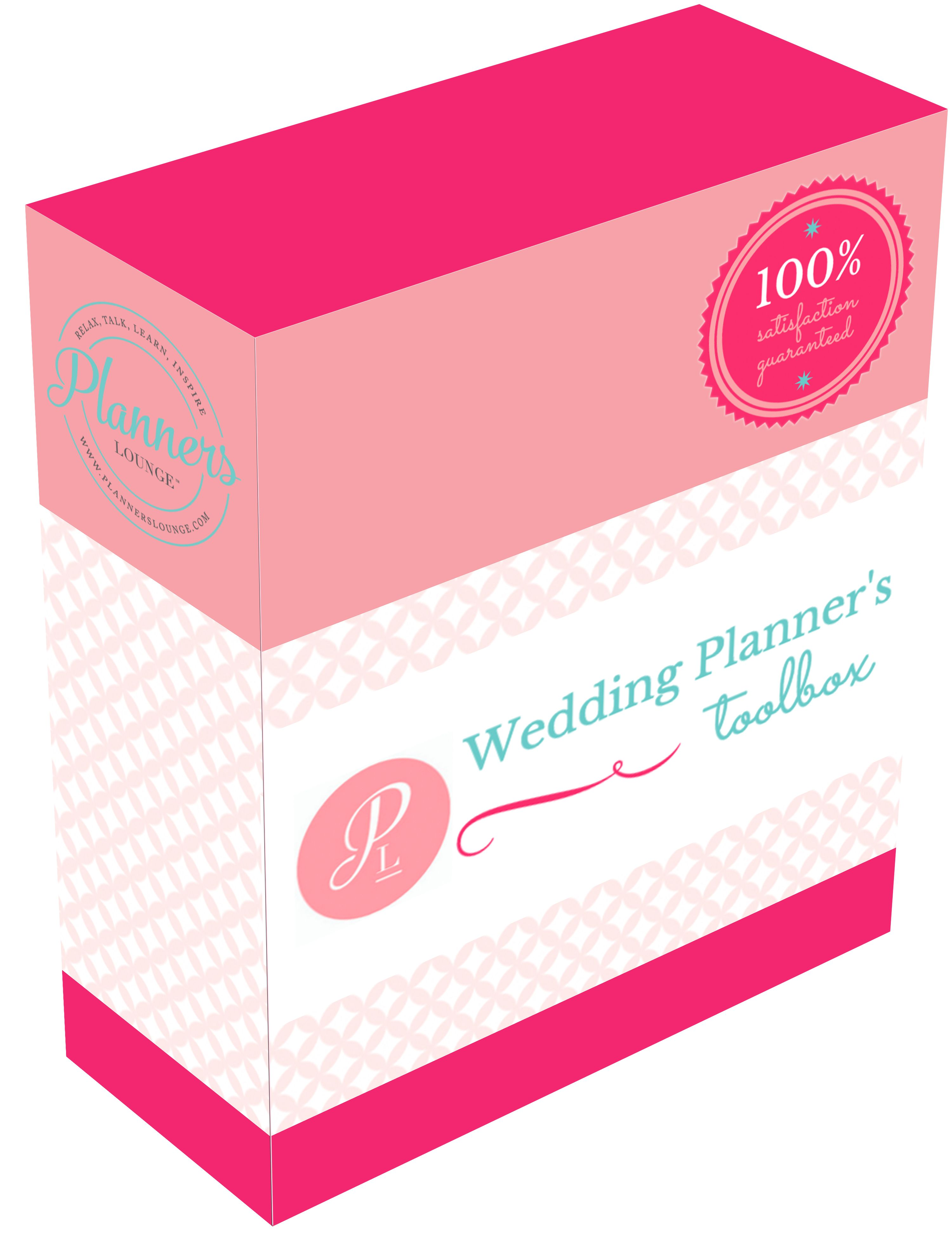 The Wedding Planner S Toolbox Is A Complete Set Of