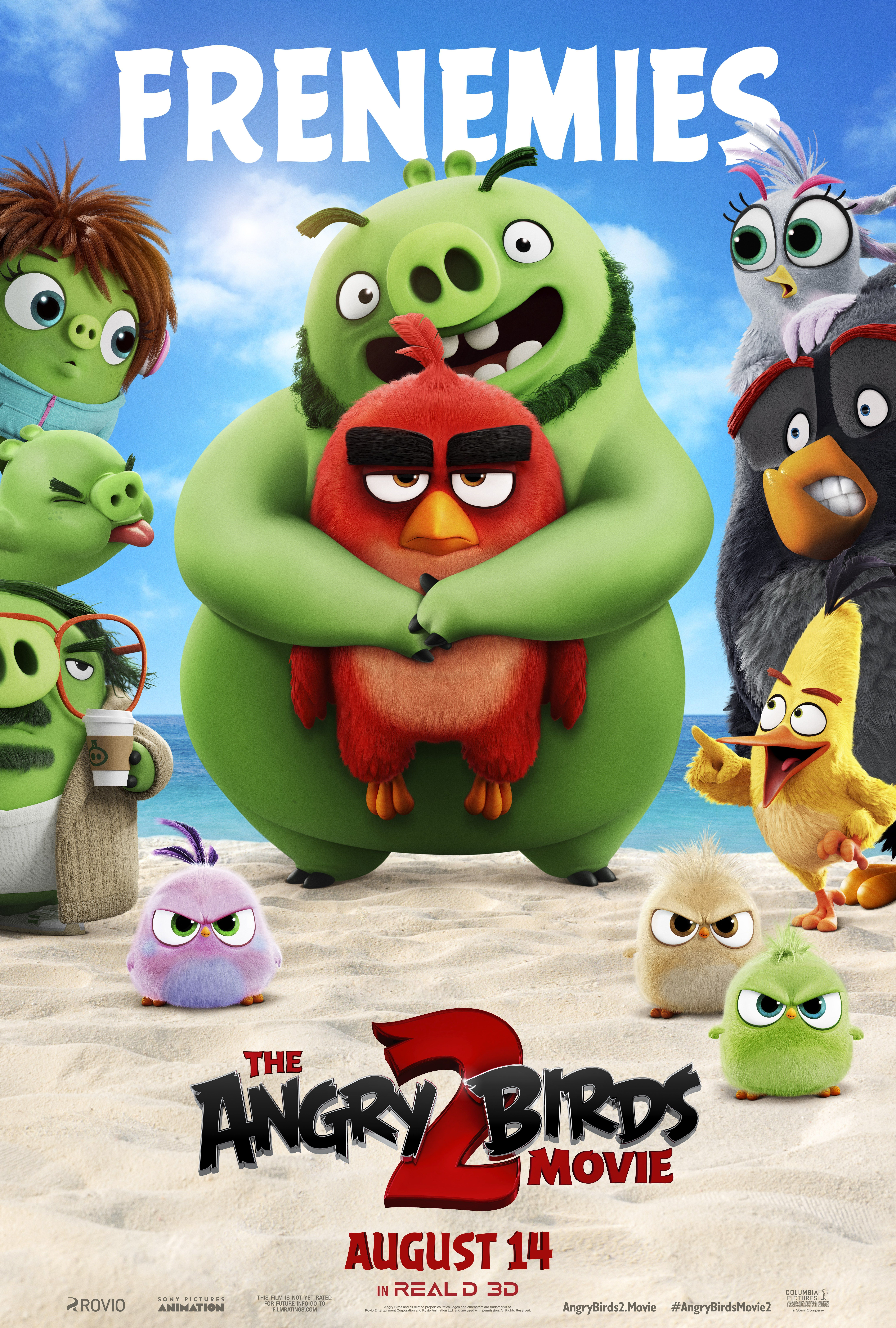 Frenemies In The Angrybirdsmovie2 Angry Birds Movie Angry Birds Angry Birds 2 Movie