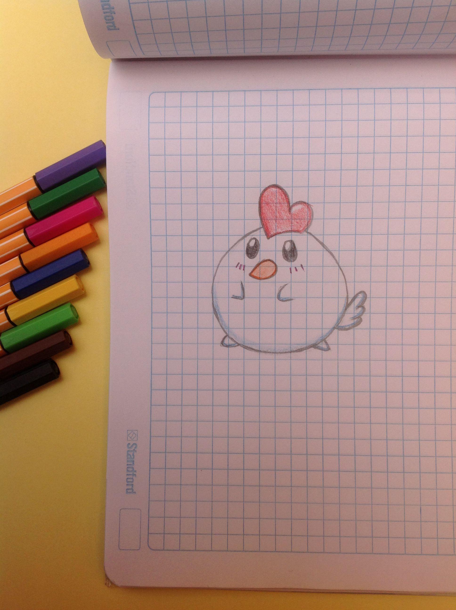 Como Dibujar Una Gallina Kawaii Como Dibujar Una Gallina Como Dibujar Kawaii