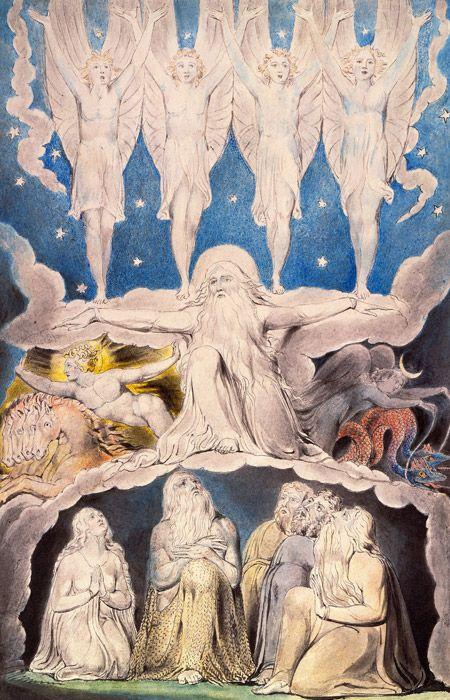フリー絵画 ウィリアム・ブレイ...
