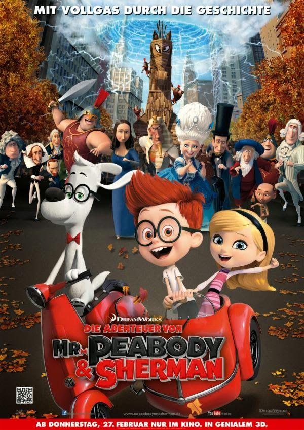 Die Abenteuer Von Mr Peabody Sherman Kinder Filme Animationsfilme Abenteuer
