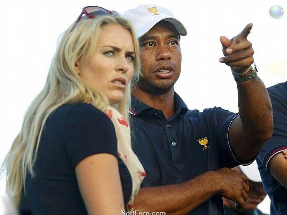 Lindsey Vonn Tiger Woods 2014