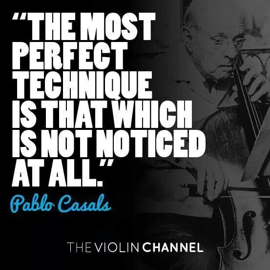 Pablo Casals | Pablo, Techniques, Violin