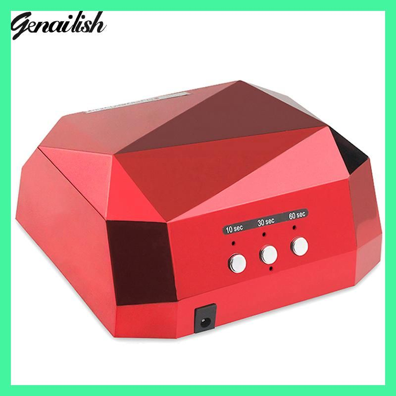 genailish 36W UV Lamp Nail Dryer LED UV Lamp for Nails Gel Dryer ...