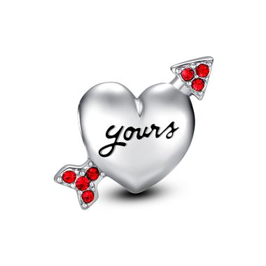 """Cupid's Arrow through your heart ❤ #Glamulet 925 Sterling Silver charms, fits all brands bracelets. Wonderful gifts for family,lover,friends...Get 5% off on www.glamulet.com with coupon code """"PIN5"""""""
