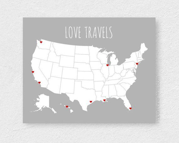 Usa Travel Map Blank United States Map Road Trip And Vacation Map