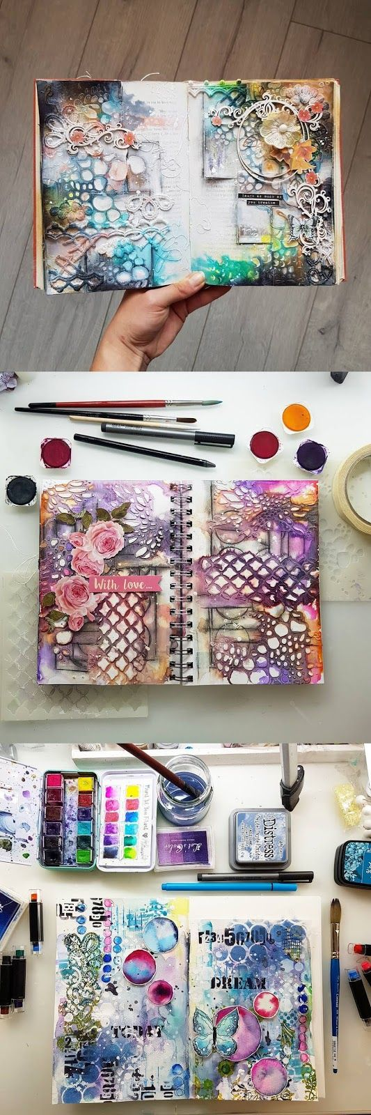 Photo of Marta Lapkowska: Art Journaling, Updates, Wanderlust and more :) – Mixed media art