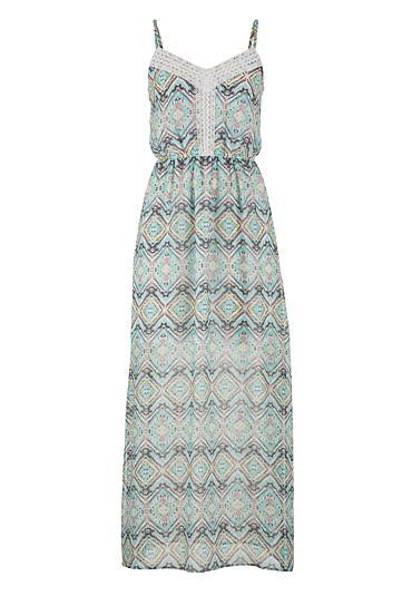 af3ef93fe046 zigzag lace and multicolor patterned maxi dress  maurices  summerdress
