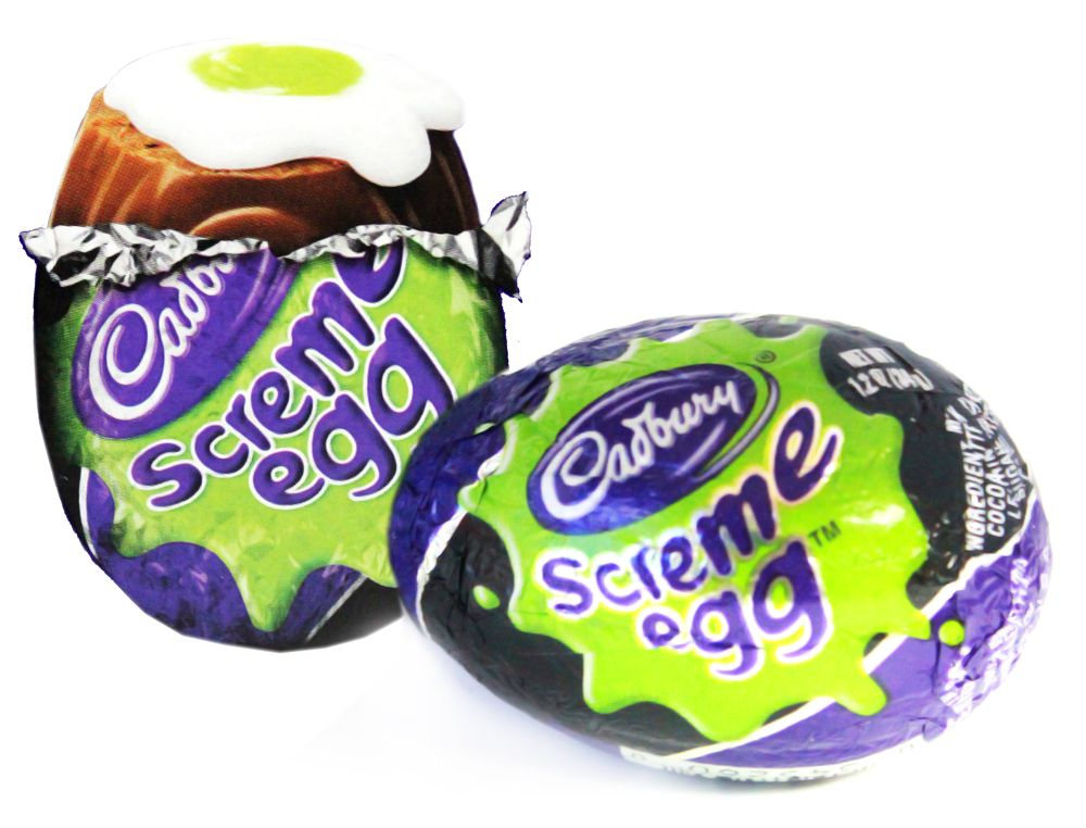 Cadbury Screme Eggs for Halloween