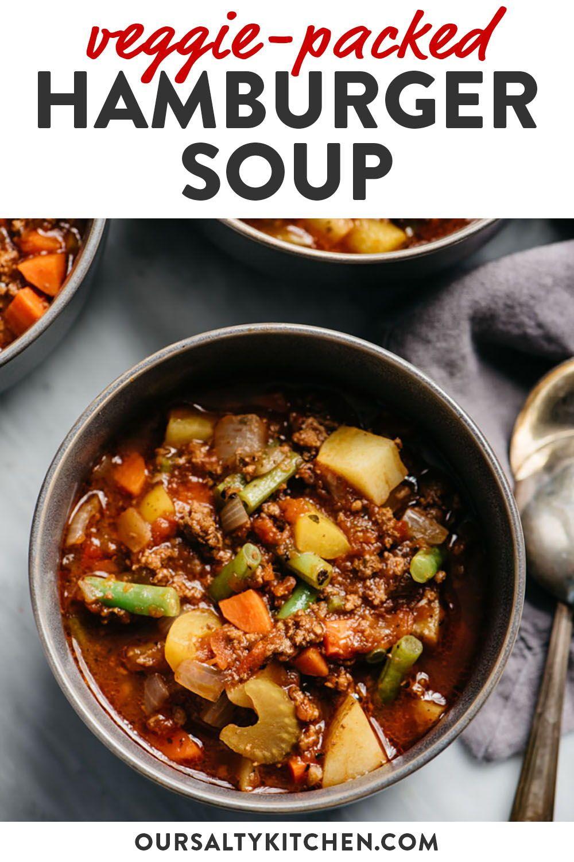 Whole30 Hamburger Soup Recipe Whole30 Soup Recipes Healthy Soup Recipes Soup Recipes