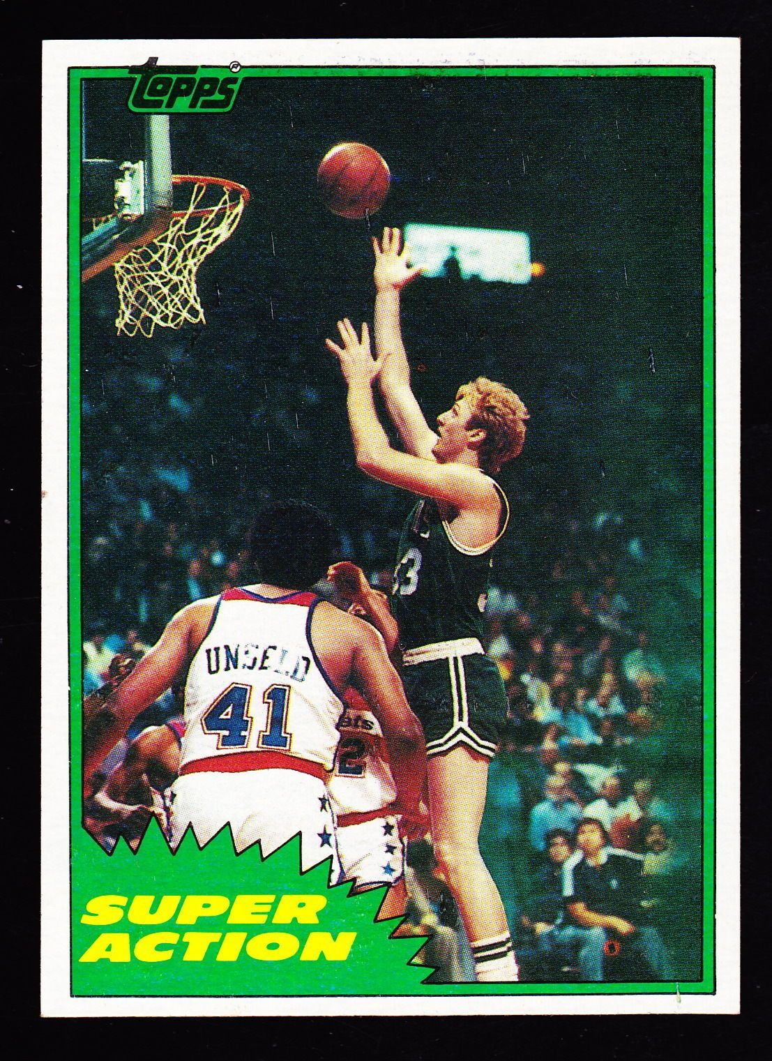 198182 topps e101 larry bird super action with images