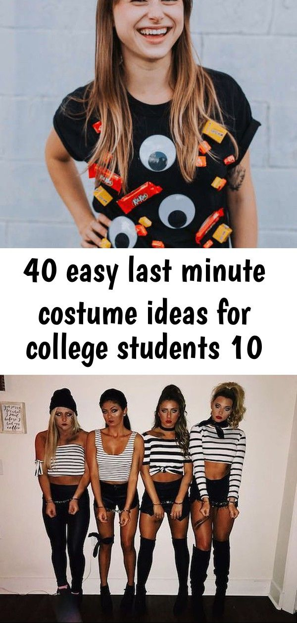 40 easy last minute costume ideas for college students 10