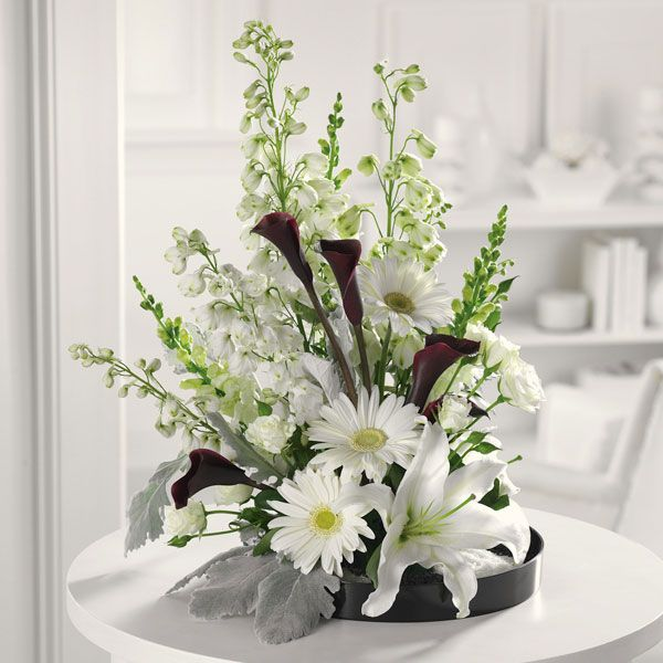 White lilies flower arrangements google search flowers