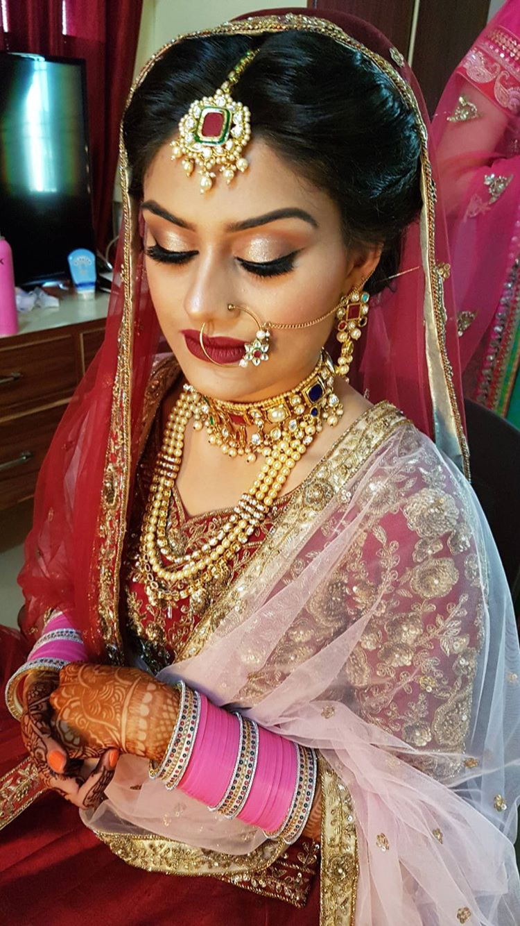pinterest: @pawank90 | jewelry | indian bridal makeup