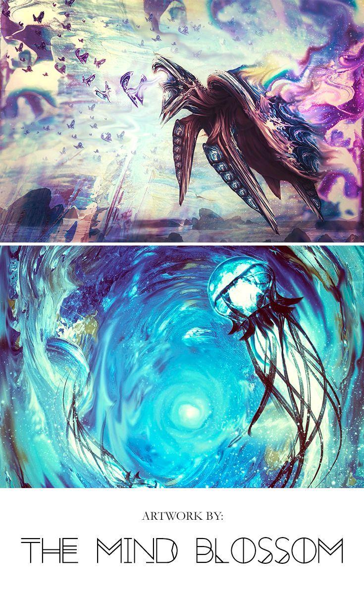surreal painting surreal canvas fantasy artwork digital illustration concept art jellyfish canvas jellyfish painting sea turtle painting sea turtle canvas abstract ocean...