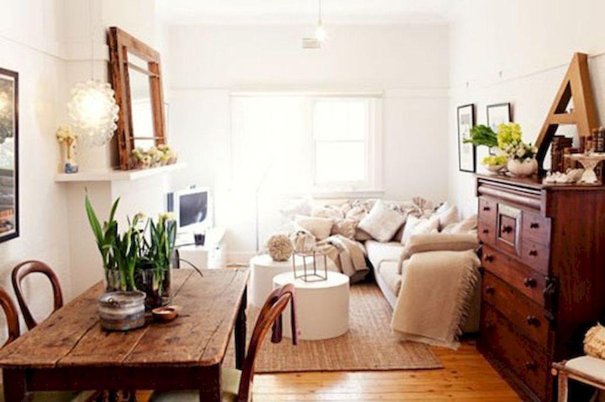 Vintage small living room decorating ideas (13