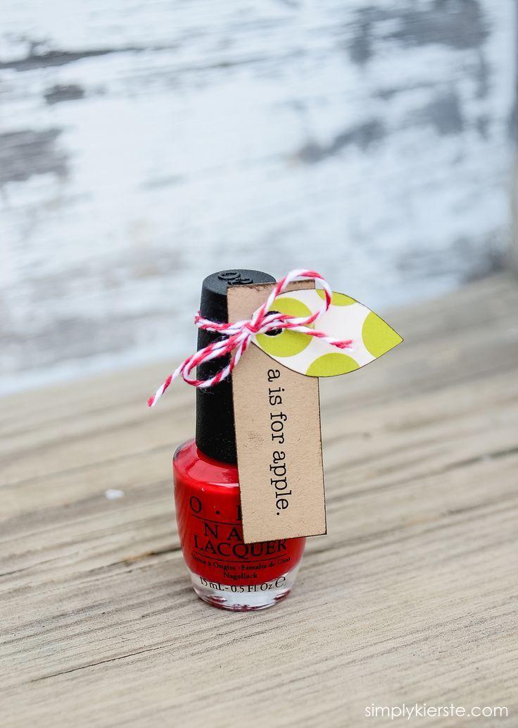Apple Nail Polish: Back-to-School Gift Idea