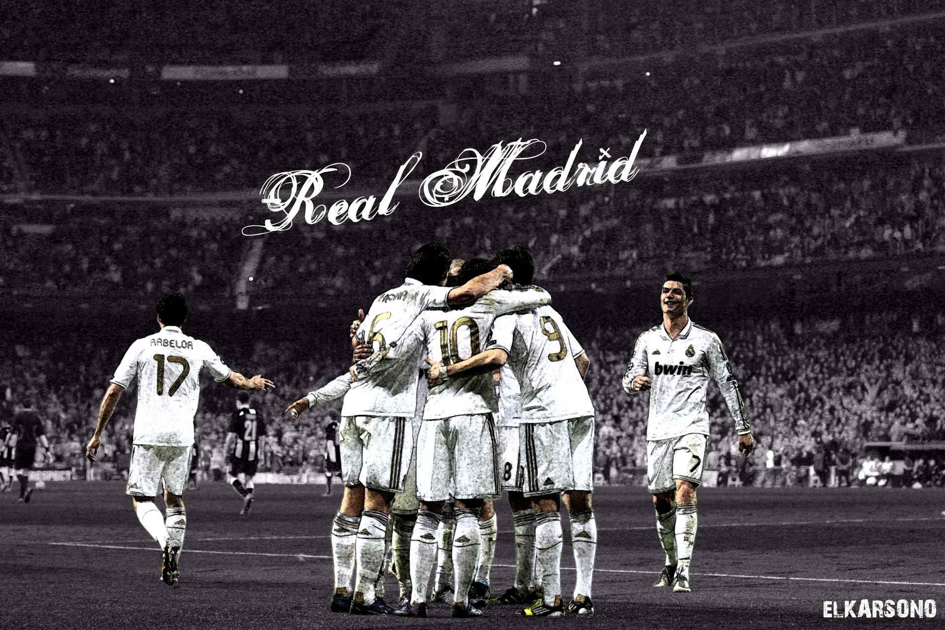 Wallpaper 4k Real Madrid Gallery Di 2020