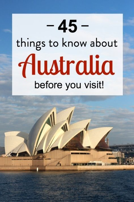 45 Things to Know About Australia Before You Visit