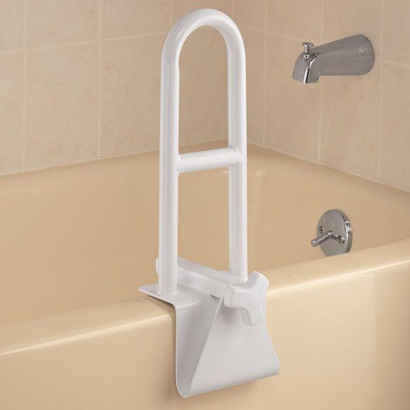 Adjustable Tub Grab Bar Bathroom Safety Shower Bars Bathtub Shower
