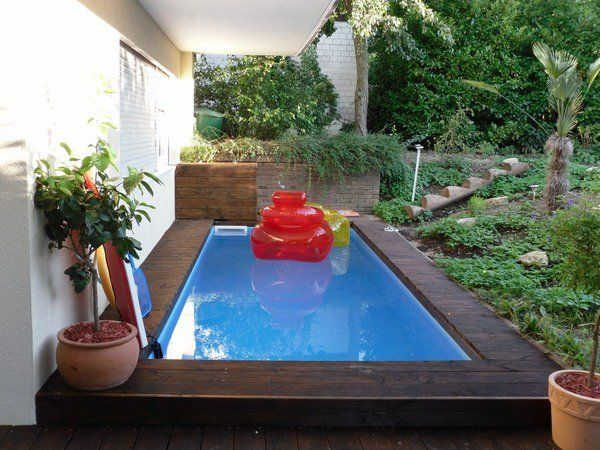 small pool ideas small patio design garden decor ideas palm tree retaining walls - Small Pool Design Ideas