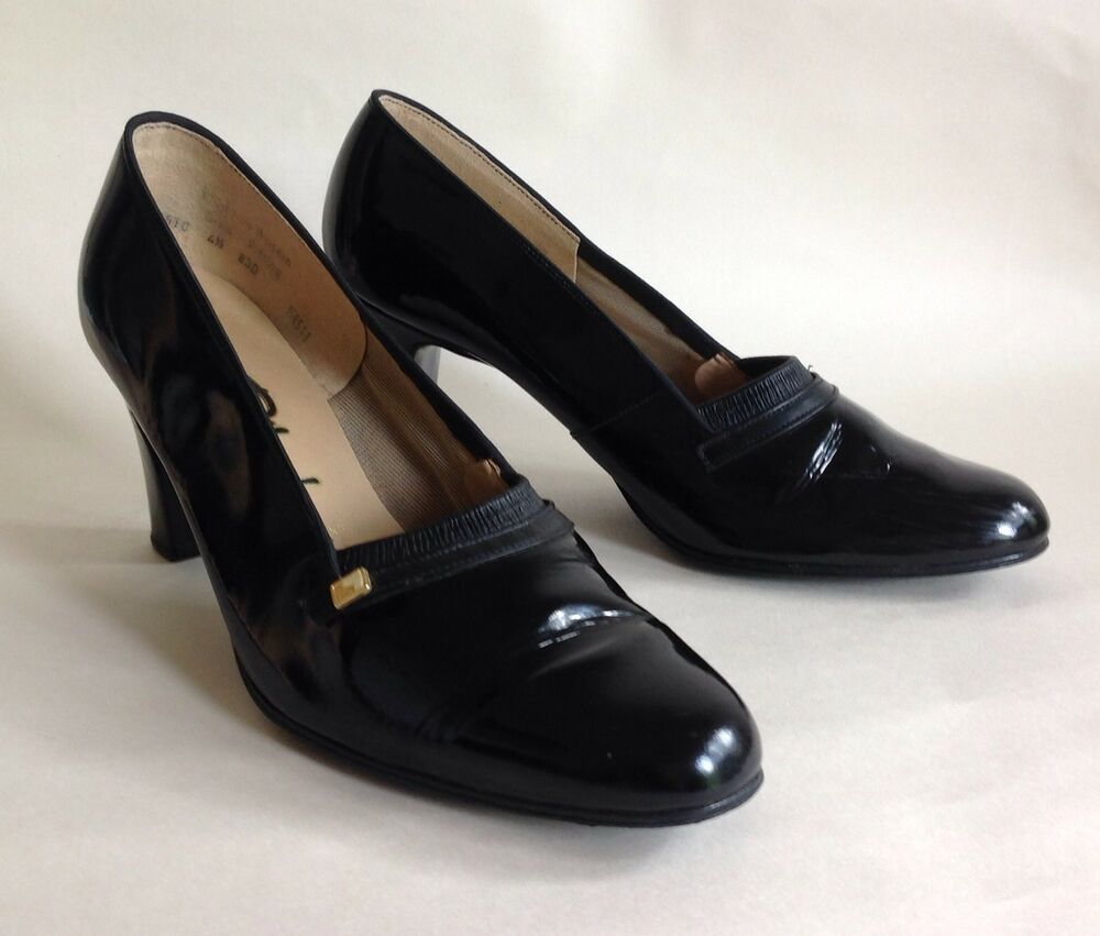 6ad5df42cd8 PORTLAND Vintage 1960s Black Patent Leather 3