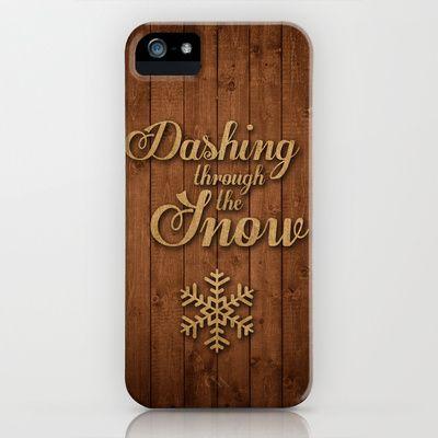Dashing Through The Snow  iphone 6 Case
