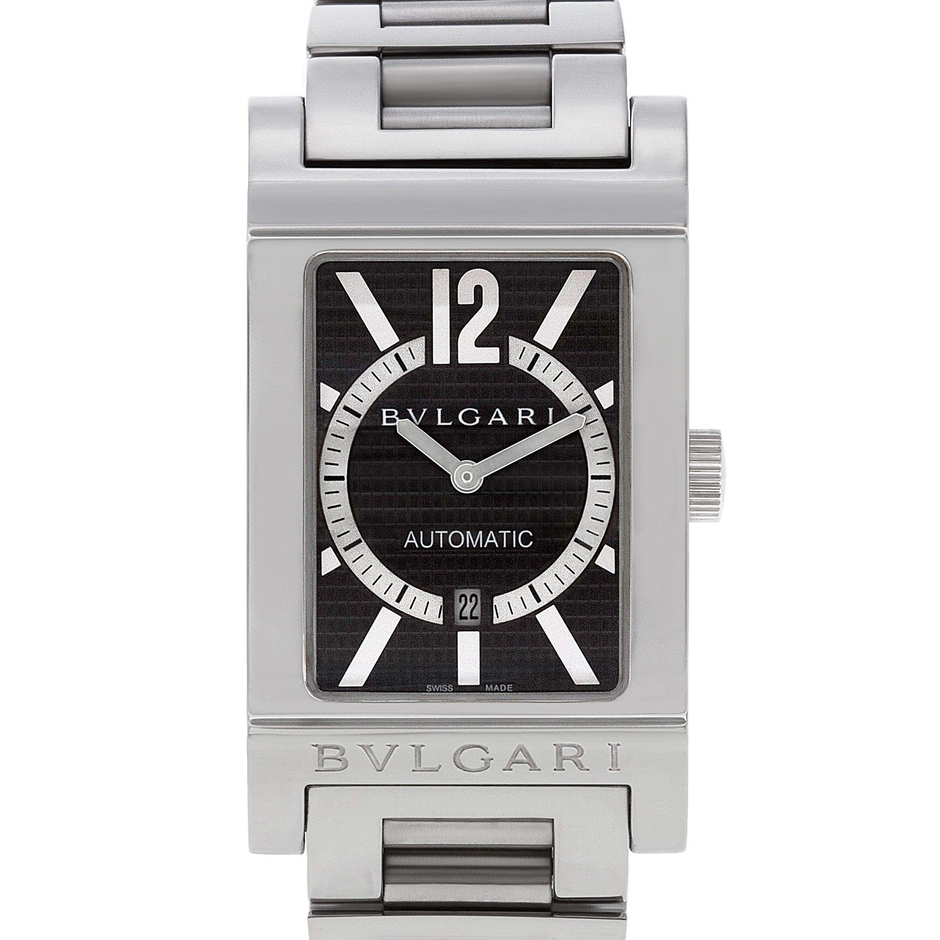 ba462416497bf Bvlgari Rettangolo RT 45 S | ❖Luxury & Vintage Watches❖ | Bvlgari ...