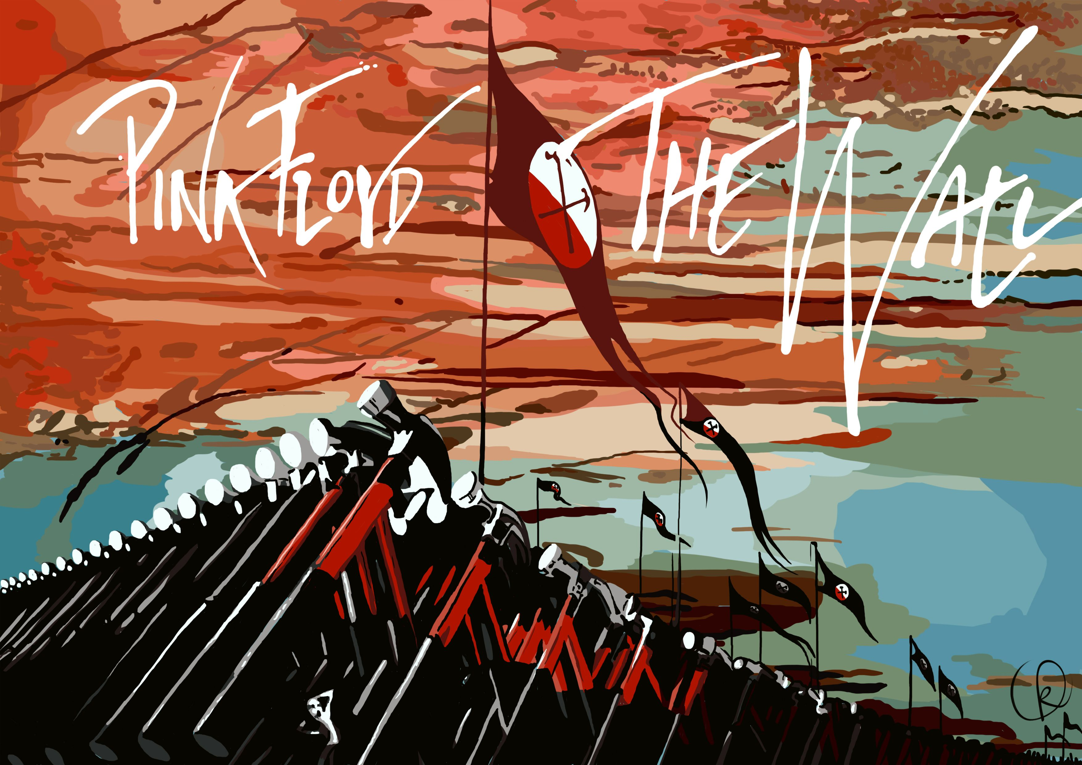 pink floyd the wall wallpaper wallpaper carteles de on pink floyd the wall id=68253