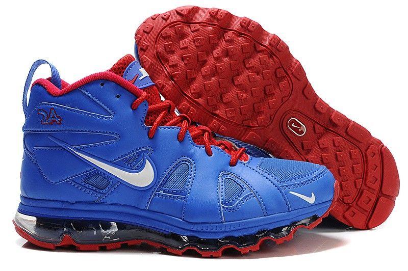 Nike Air Griffey Max Fury Blue/Red/White [Nike Ken Griffey Jr 059