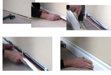 conduit corners google search house pinterest corner google rh pinterest com Skirting Board UK fitting carpet under skirting boards