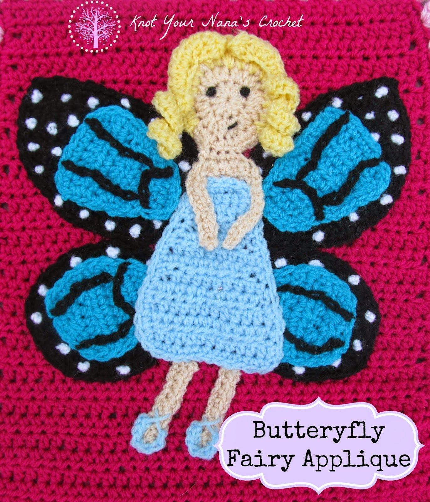 Knot Your Nana\'s Crochet: Fairy Garden Themed Blanket | bebek ve ...