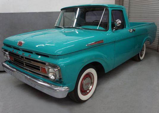 1962 Ford F100 Google Search Ford Trucks Vintage Pickup Trucks Classic Trucks
