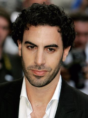 Sacha Baron Cohen    i've always found him very attractive