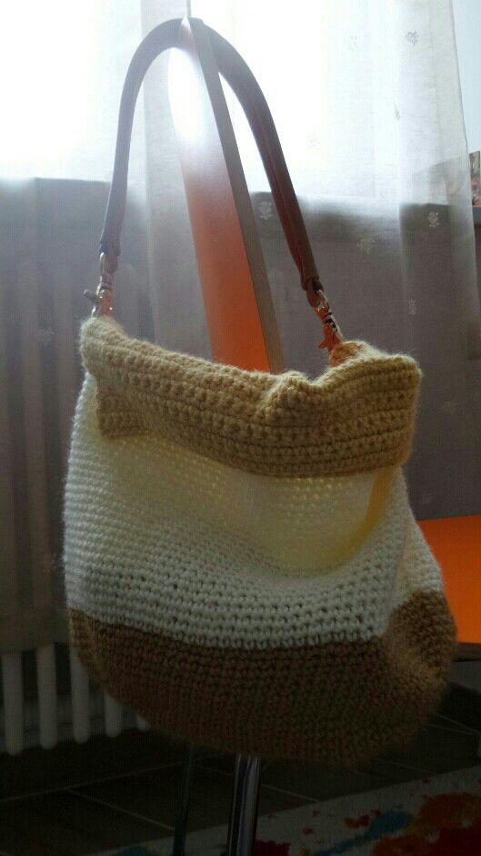 Hand made bag☆  Ho fatto una borsa di lana☆