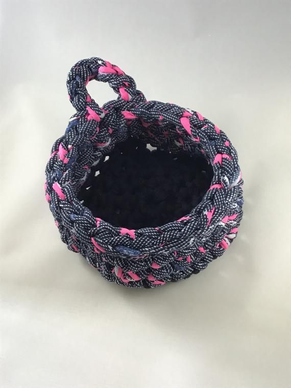 Crochet Bowl, Crochet Storage Container, Crochet Decor #crochetbowl