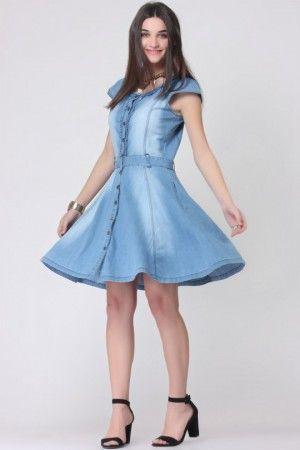 6e1b33b56d denim dresses online india - Google Search