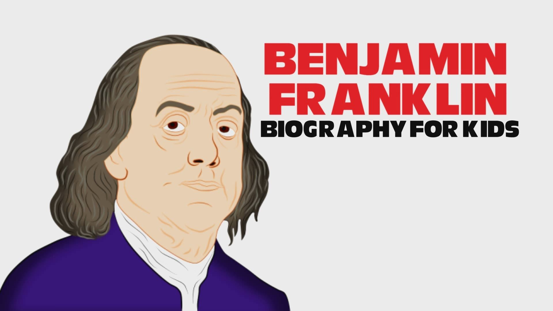 Benjamin Franklin Cartoon For Children Ben Franklin