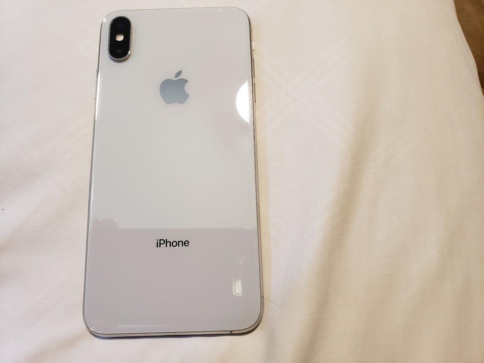 Apple Iphone Xs Max 256gb Silver Com Imagens Celulares