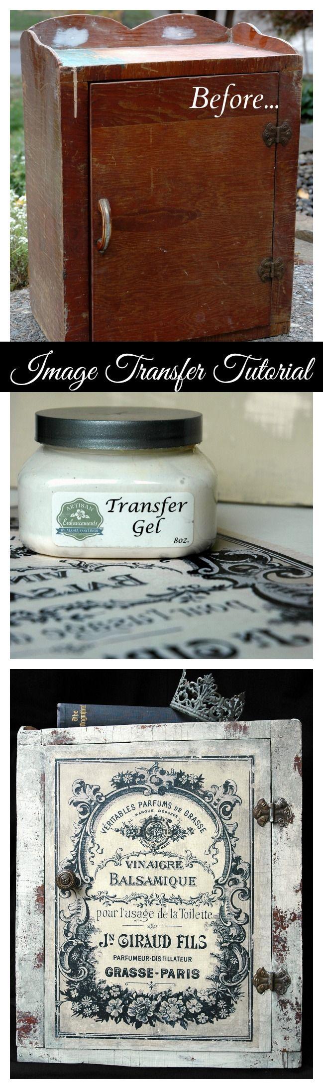 image transfer tutorial m bel restaurieren und aus alt mach neu. Black Bedroom Furniture Sets. Home Design Ideas