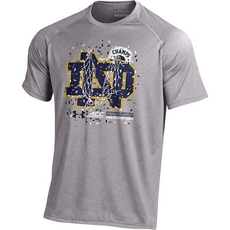 Under Armour Notre Dame Fighting Irish Women s Basketball 2015 ACC  Champions T-Shirt ad9e110b2