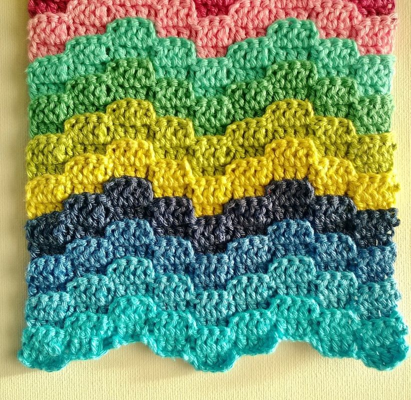 Bargello stitch pattern   Crochet Inspiration   Pinterest ...