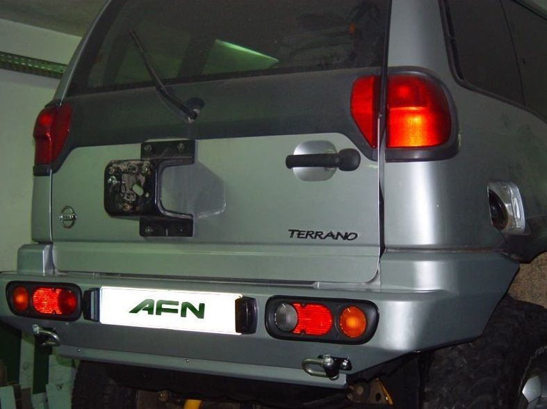 AFN - REAR BUMPER NISSAN TERRANO II | Nissan terrano, Nissan