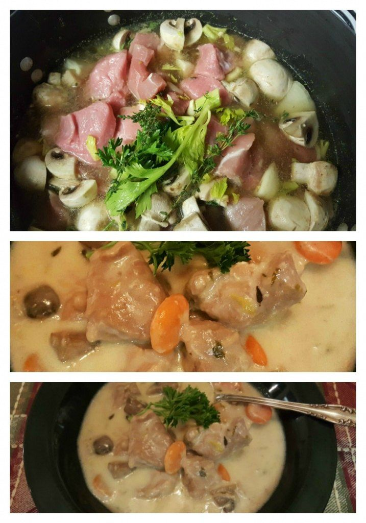 Blanquette De Veau A L\u0027Ancienne (Veal Ragout) Recipe - cuisine a l ancienne