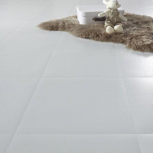 Dalle Pvc Adhesive Gerflor Design Blanc 30 50 X 30 50 Cm Dalle Pvc Adhesive Dalle Pvc Dalle Sol Pvc