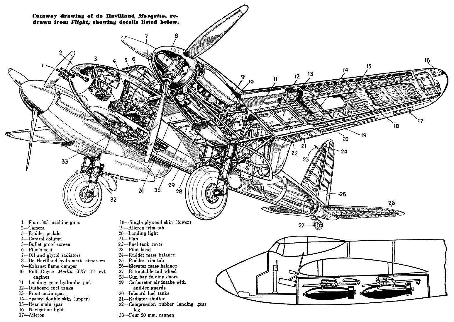 mosquito av 4402 cutaway p144 w
