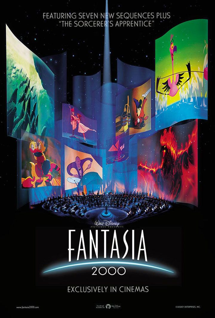Fantasia 2000. This movie is legit a part of my childhood.   Taught me the power of music and the creativity and beauty of film, specifically animation.
