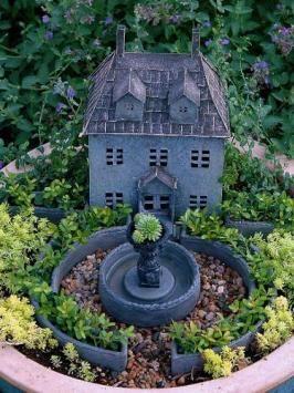 Genial Ronna Mooreu0027s Fairy Garden From Fairy Gardening 101