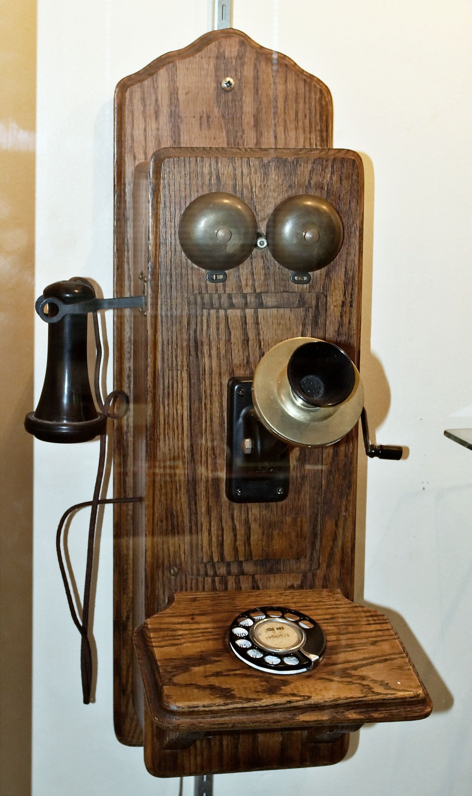 The telephone was a late 19th century invention that ...